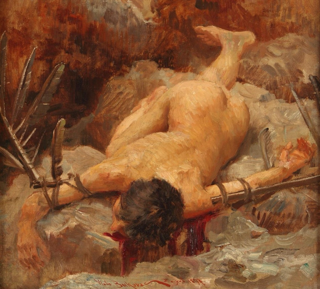 Vlacho Bukovac. Icarus on earth