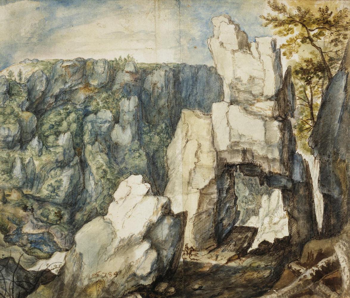 Ролант Саверей. Горный пейзаж