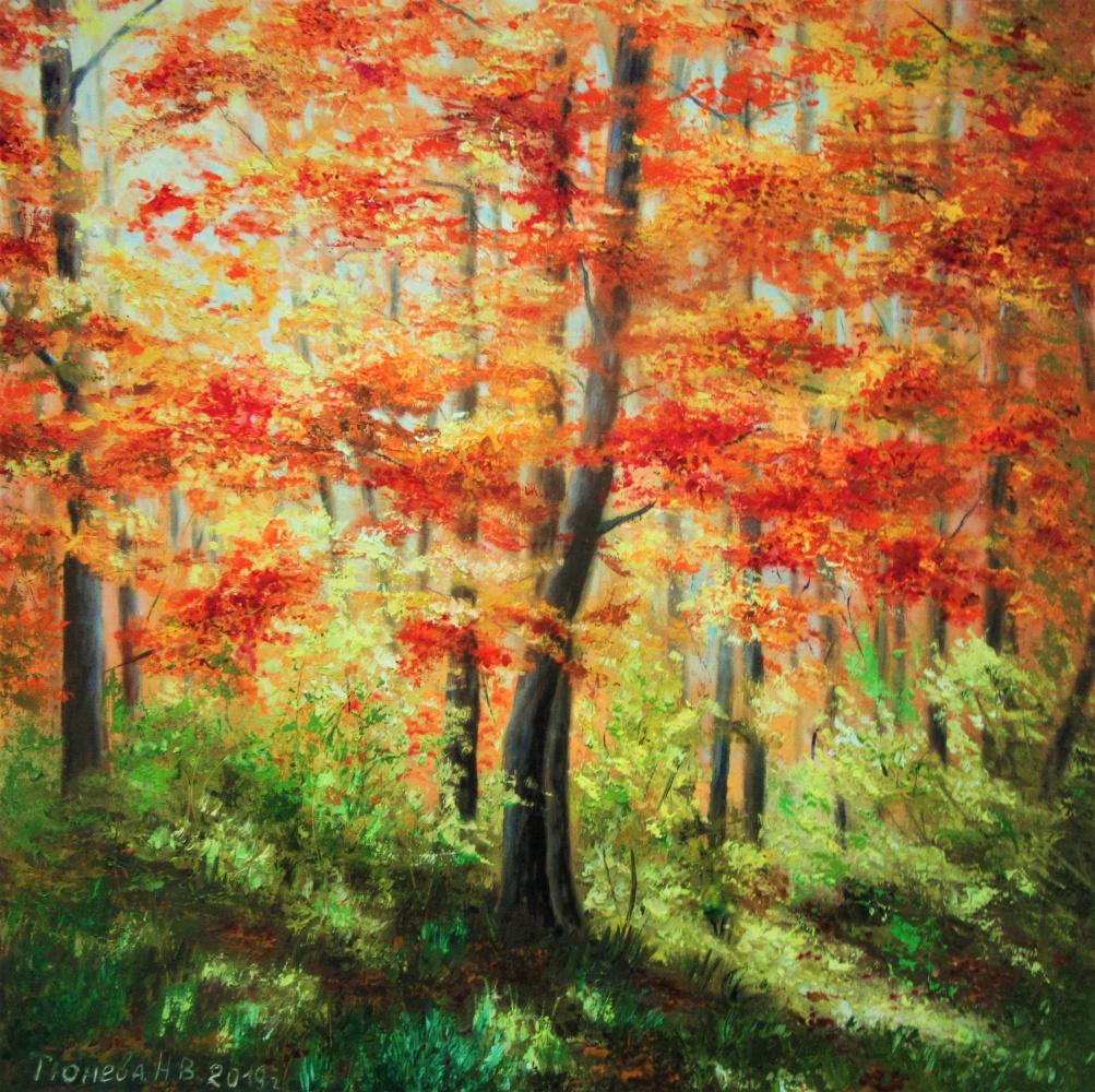 Natalia Viktorovna Tyuneva. Colors of autumn