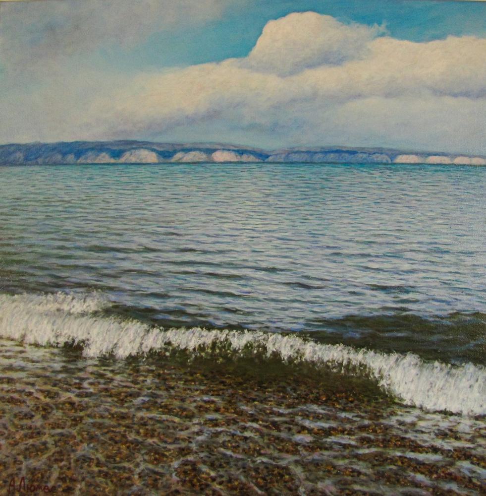 Andrew Lumez. Озеро