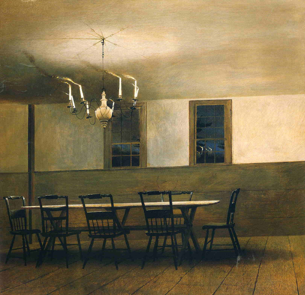 Andrew Wyeth. Season of the witch