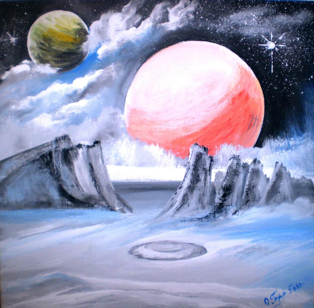 Ольга Болеславовна Горпинченко. Somewhere on the Milky Way