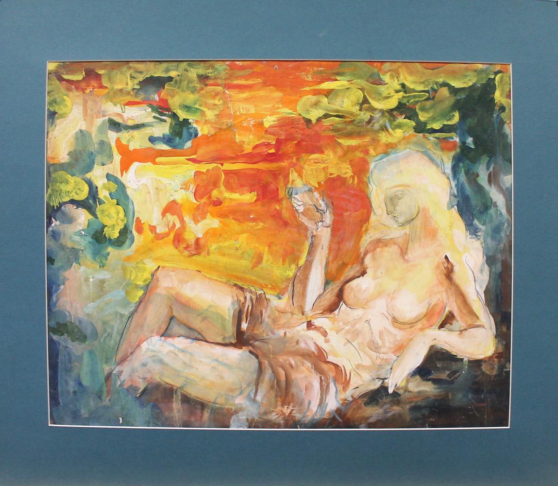 Yuri Gurov. Nude