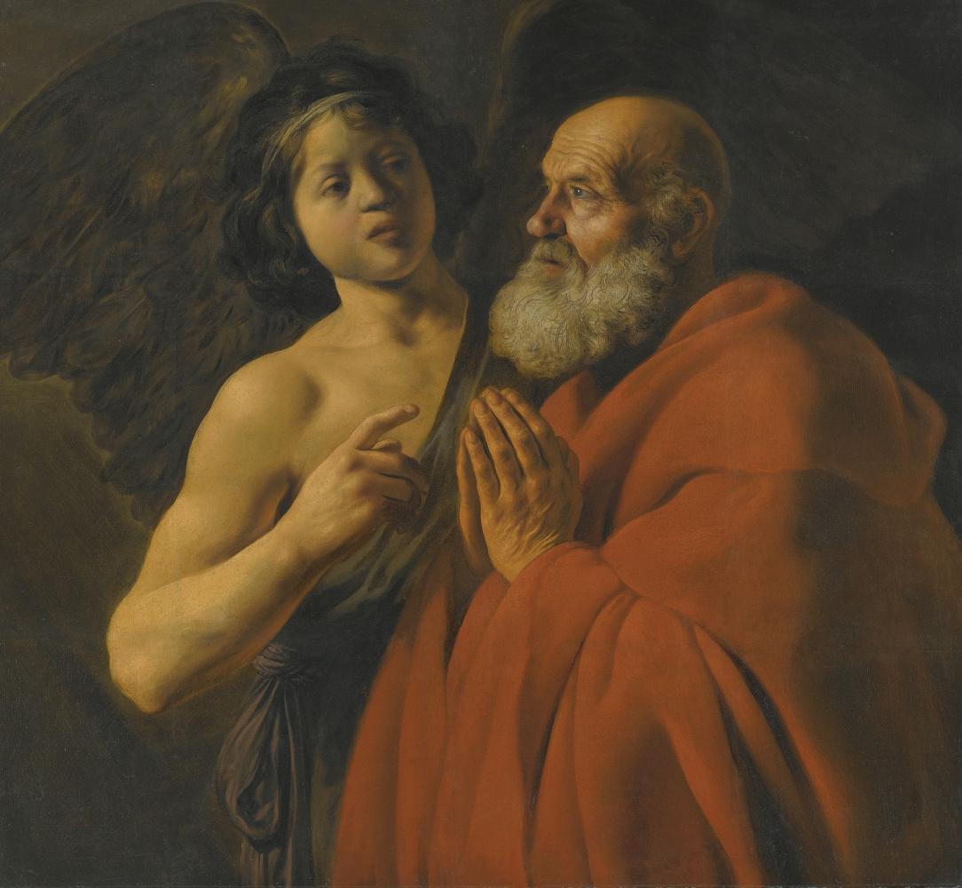Ян Ливенс. Освобождение Св. Петра из темницы