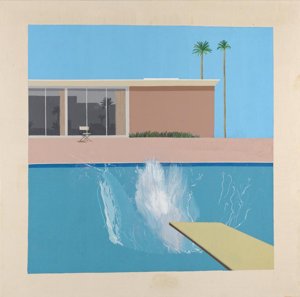 David Hockney. Big splash