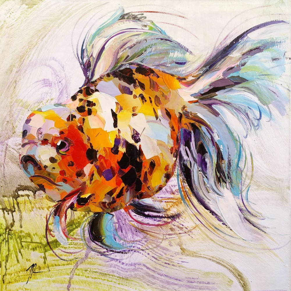 Jose Rodriguez. Goldfish for the fulfillment of desires. N15