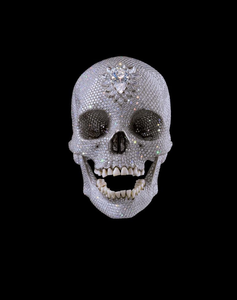 Damien Hirst. For the Love of God