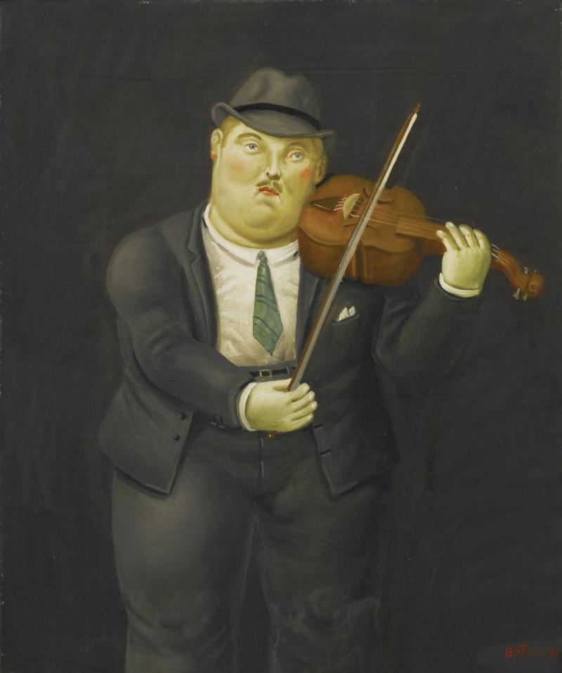 Fernando Botero. Violinist
