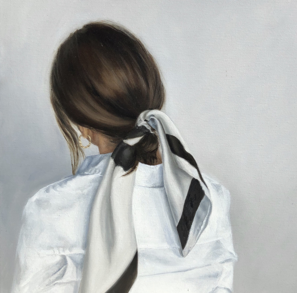 Margarita Yakunchova. Girl with ribbon