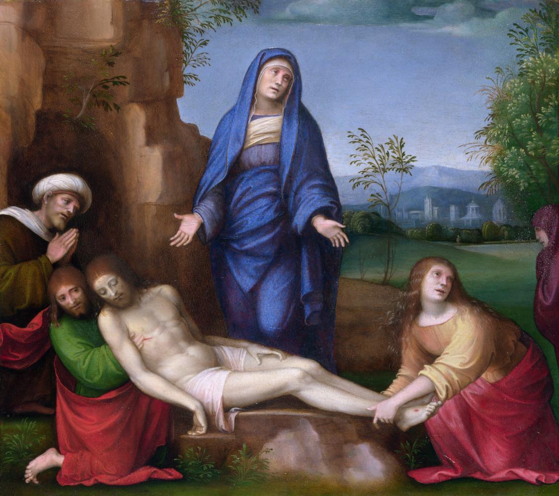 Франческо Франча. Оплакивание мертвого Христоса