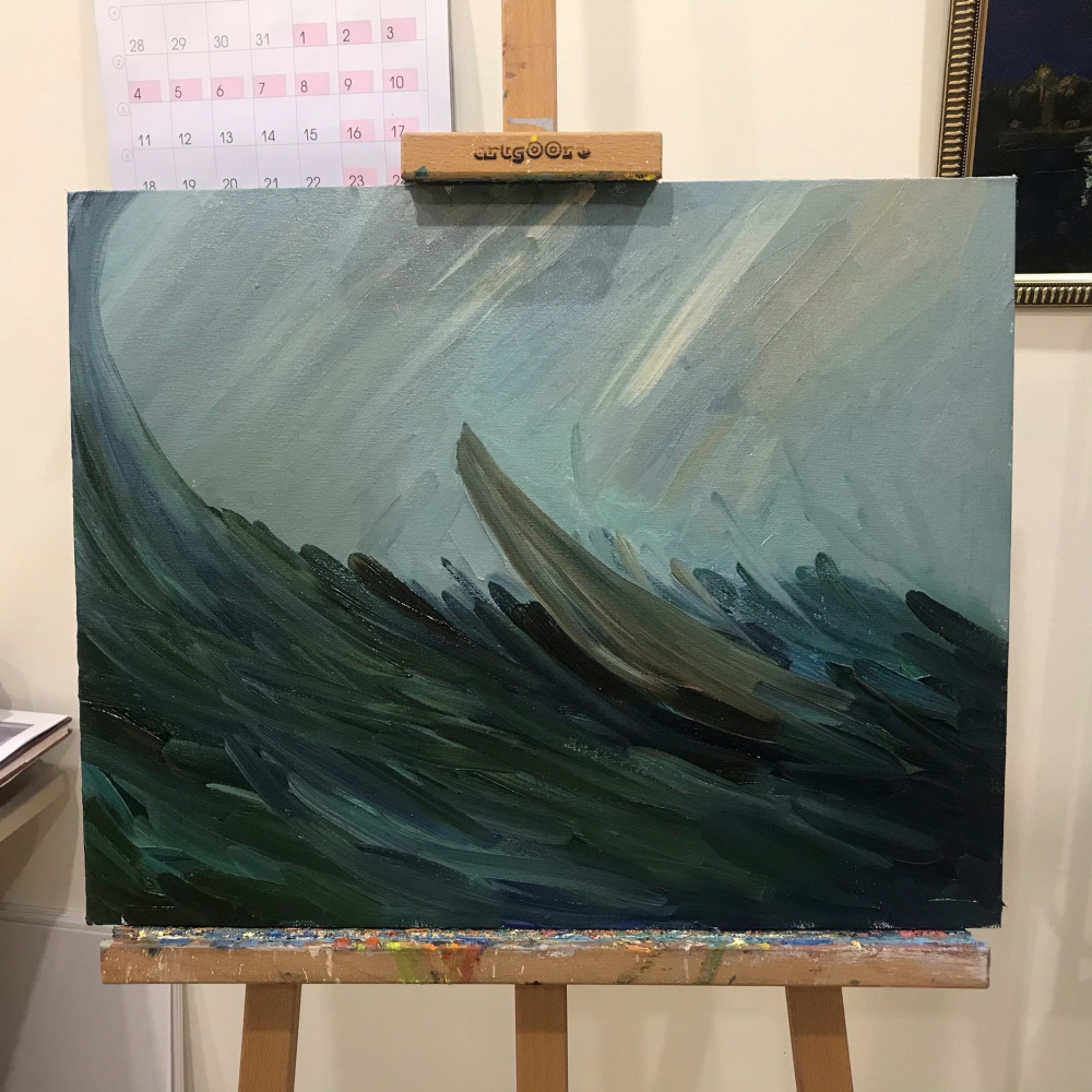 Julia Tarakanova. The last breath. Shipwreck.