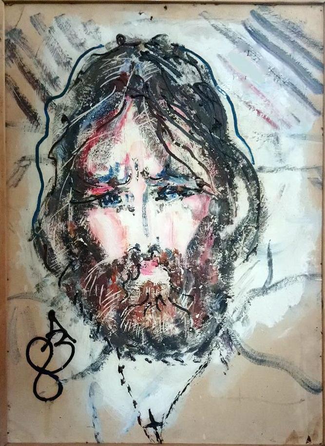 Anatoly Zverev. Portrait of the artist Igor Kislitsyn