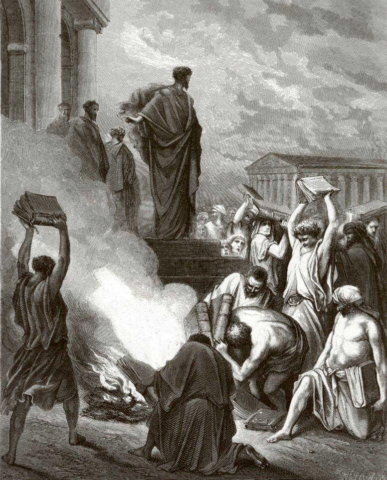 Поль Гюстав Доре. Апостол Павел в Ефесе