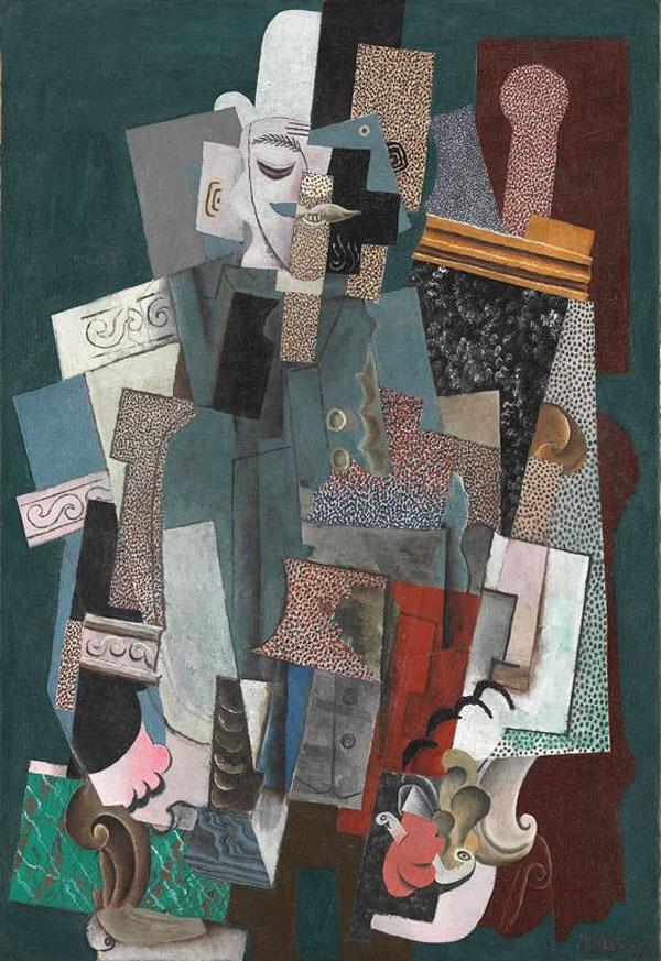 Пабло Пикассо. Человек с трубкой