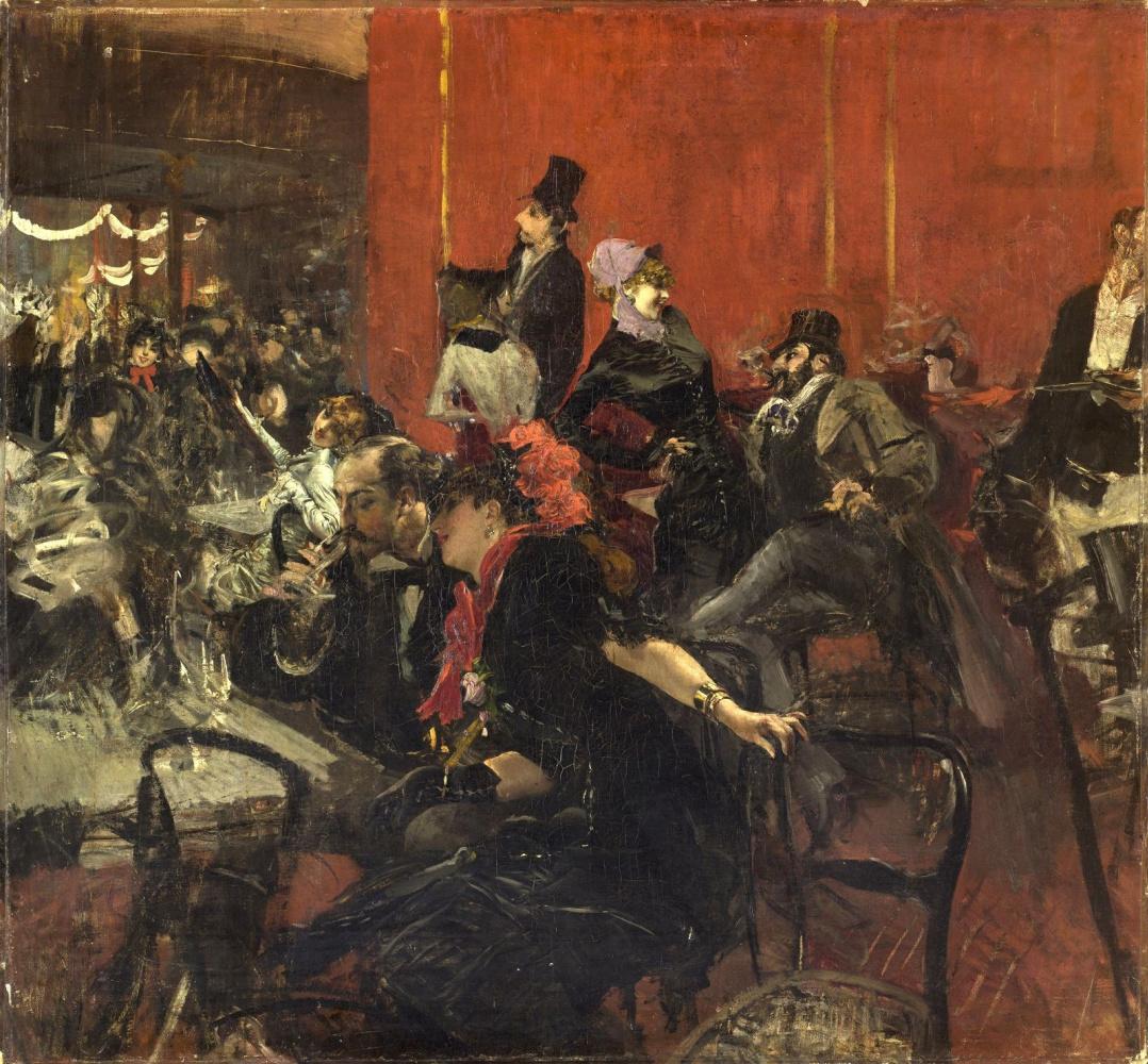 Giovanni Boldini. Festive evening