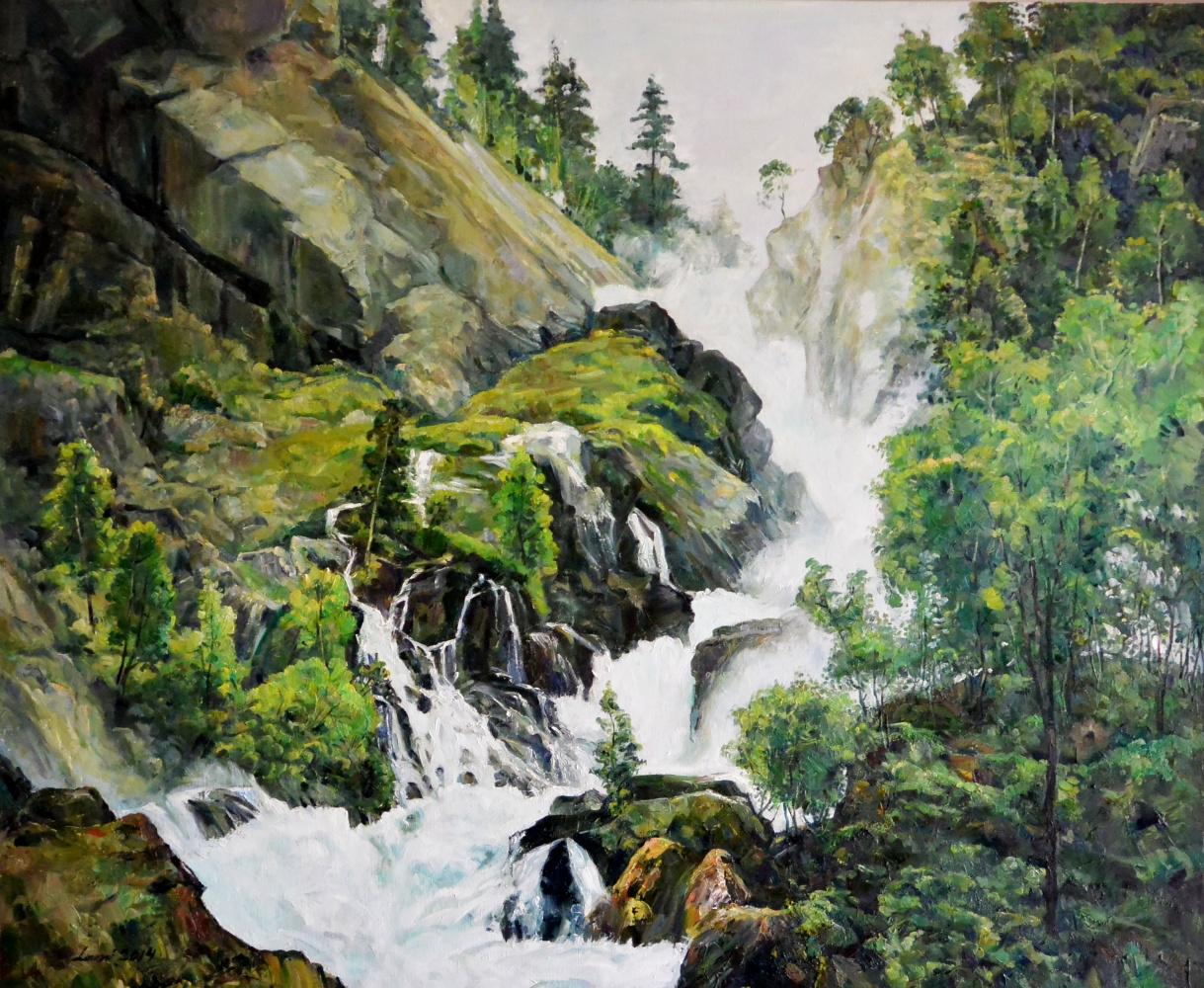 "LEMI Abaev. ""Waterfalls of the mountains"""