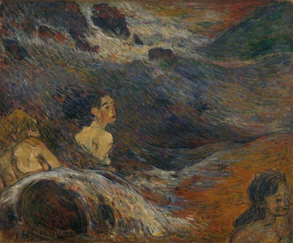 Charles Laval. Women Bathing