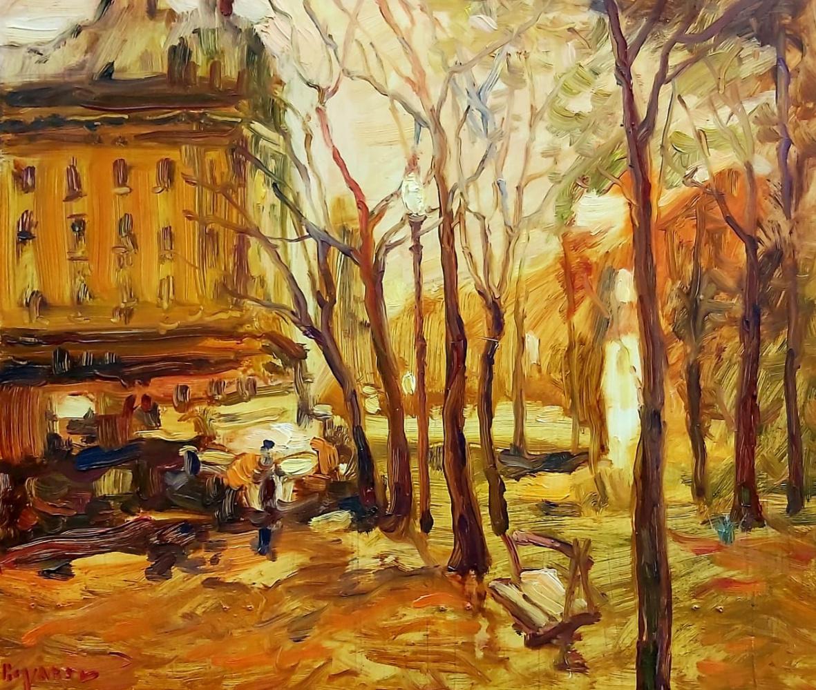 Alexander Mukha / Mukhomedeev-Boyarov. Morning in Paris