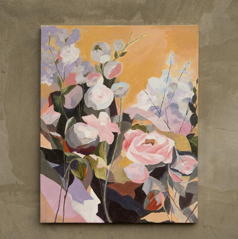 Taisia Leonidovna Zaikina. Delicate Rose