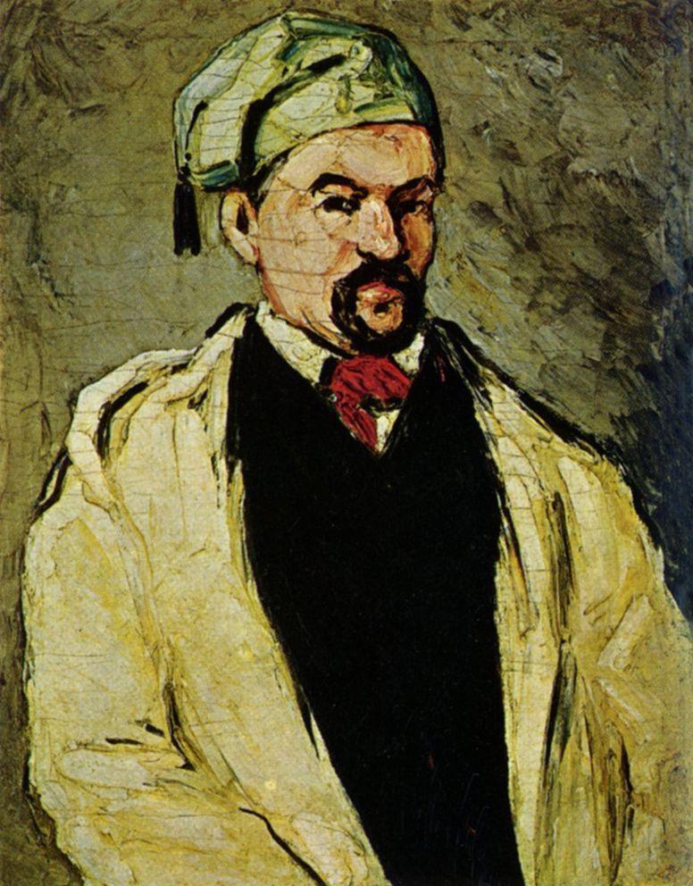 Поль Сезанн. Портрет дяди Доминика