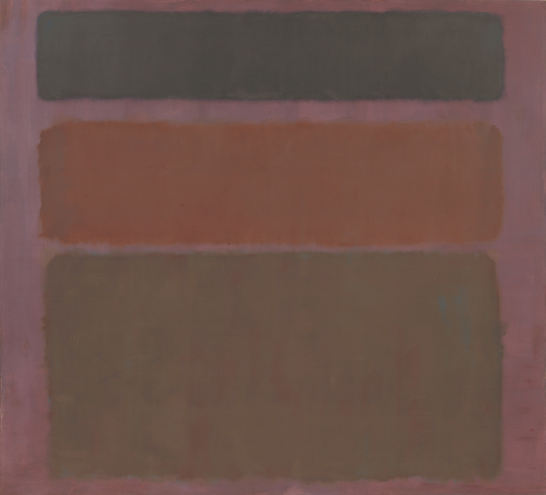 Rothko Mark.  No. 16 (Red, brown and black)