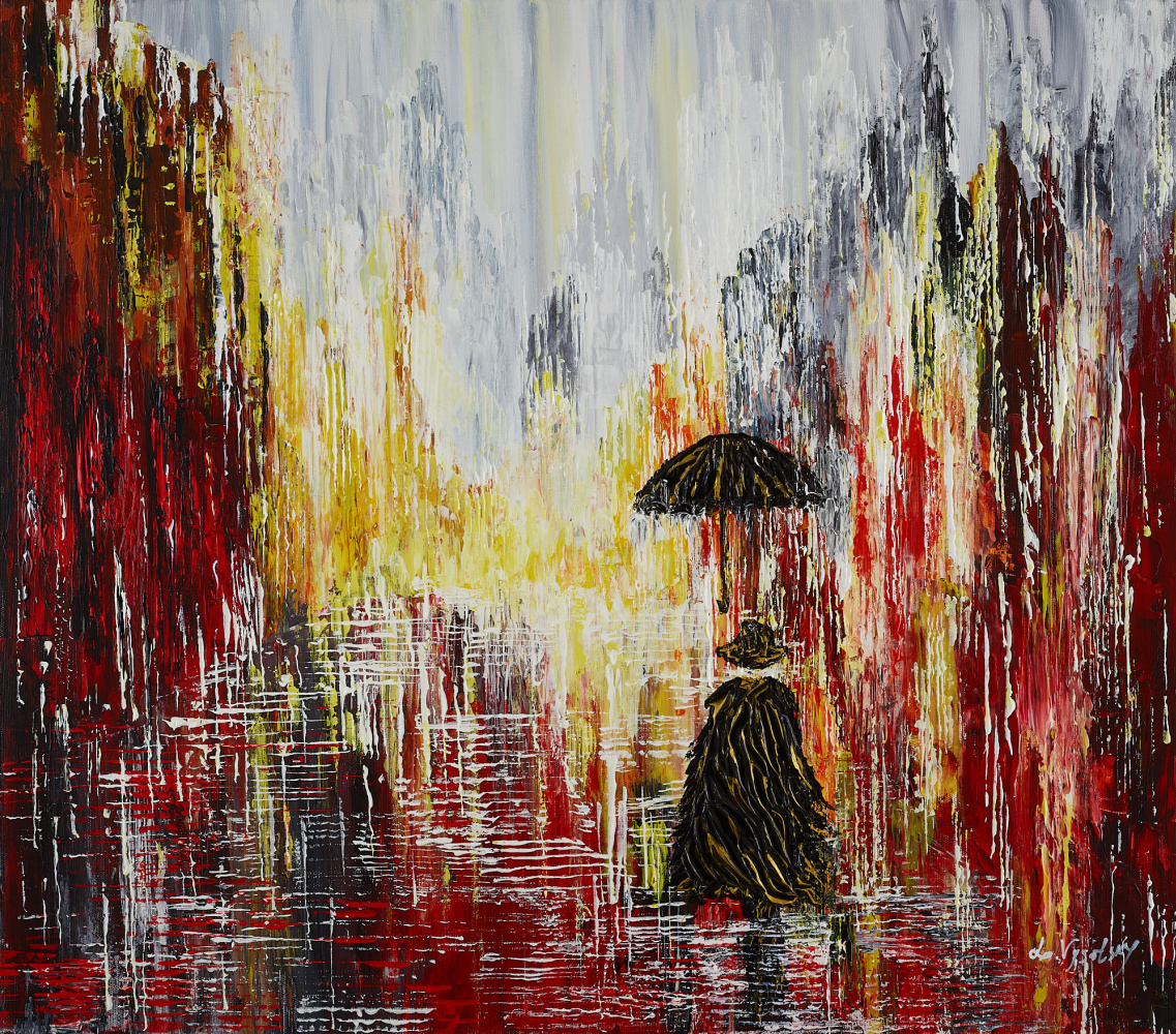 Leda Vysotsky. Rain in the strange city