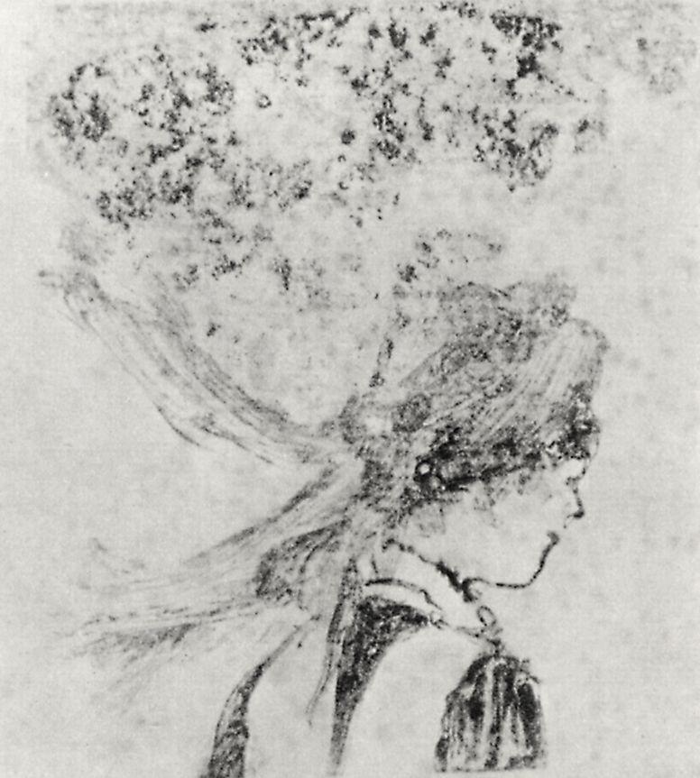 Edgar Degas. Nurse