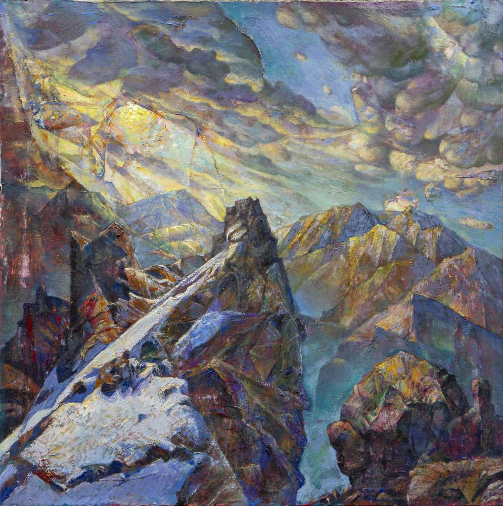 Rinat Salimzyanovich Khanafeev. Watch cliff