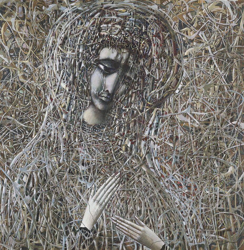 Иван Степанович Марчук. Украинская Мадонна (Чернобыльская Мадонна)