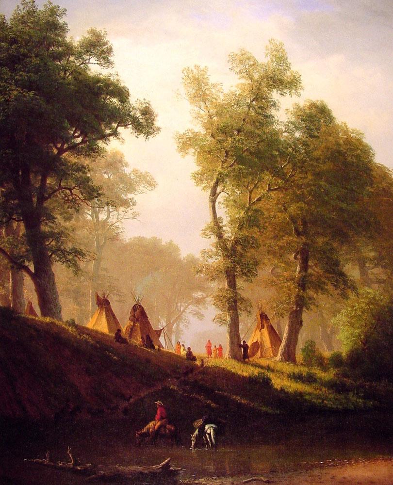 Альберт Бирштадт. Волчья река