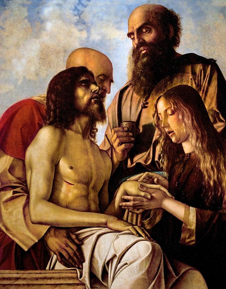 Giovanni Bellini. Pieta (Lamentation of Christ)