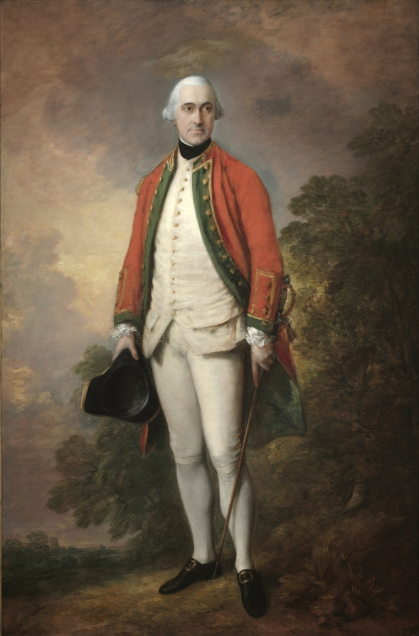 Thomas Gainsborough. Portrait of George pitt, first Lord rivers