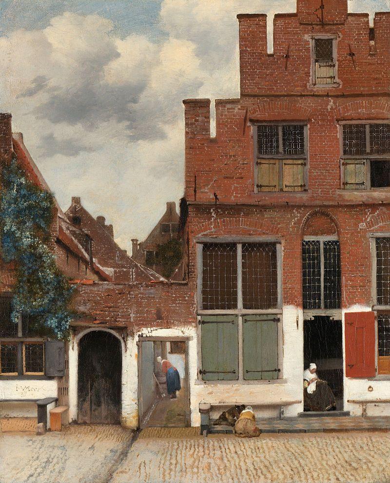 Jan Vermeer. Little street in Delft