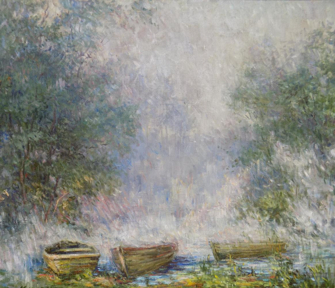 Victor Vladimirovich Kuryanov. Morning fog