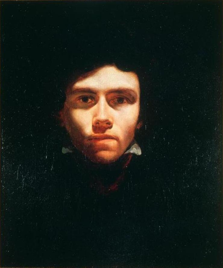 Théodore Géricault. Portrait Of Eugene Delacroix