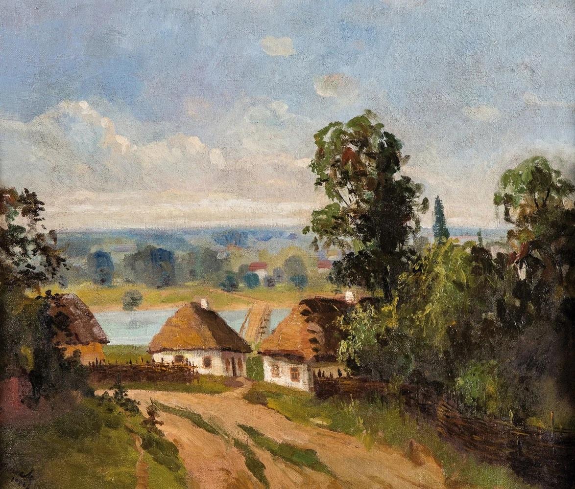 Николай Григорьевич Бурачек. Ukrainian summer landscape