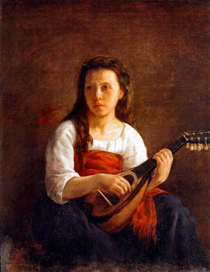 Mary Cassatt. Mandolinists