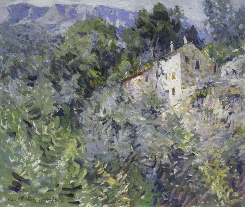 Константин Алексеевич Коровин. На юге Франции