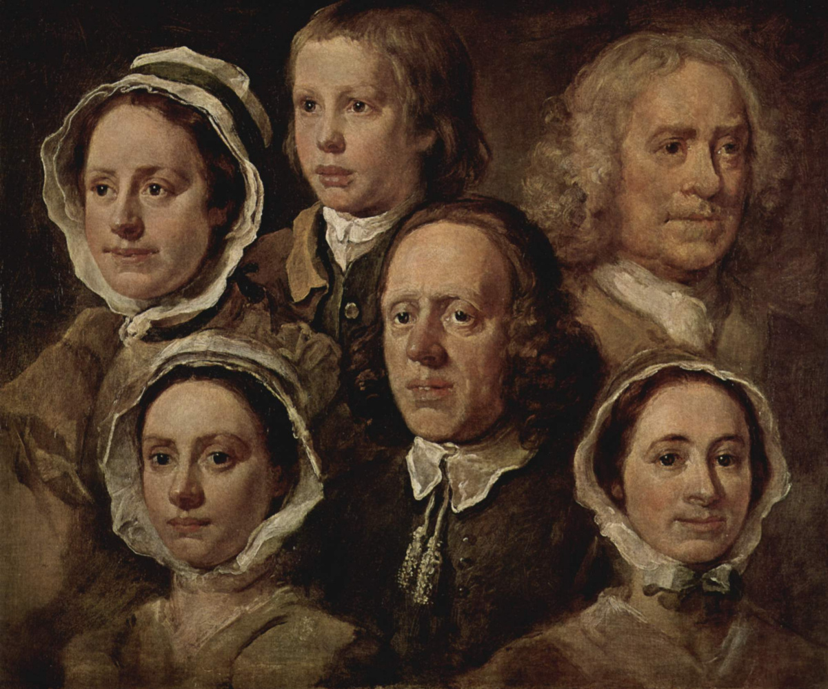 William Hogarth. Servant of the artist
