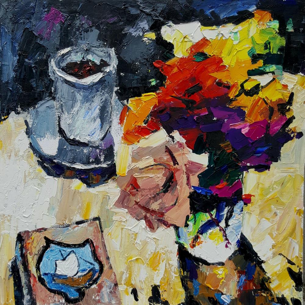 Yuri Leonardovich Uzhdavini. Coffee flowers book in the sun