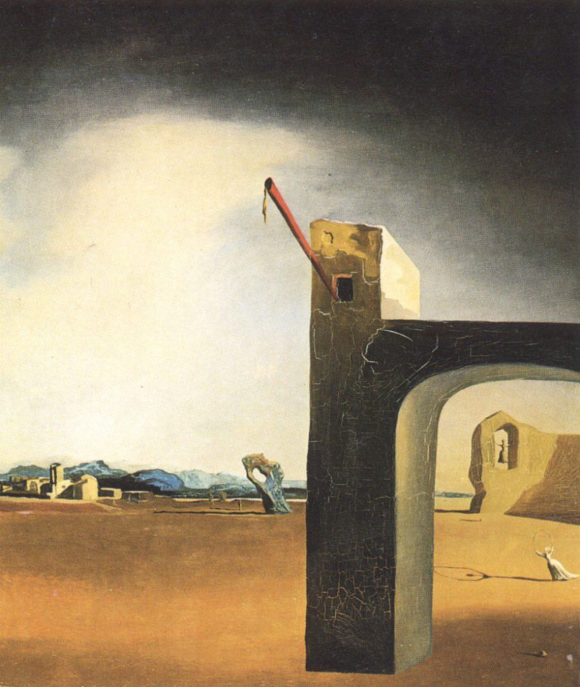 Salvador Dali. Morphological Echo (1934–36)
