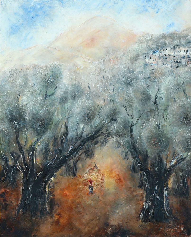 Reuven Rubin. The Galilee Landscape.