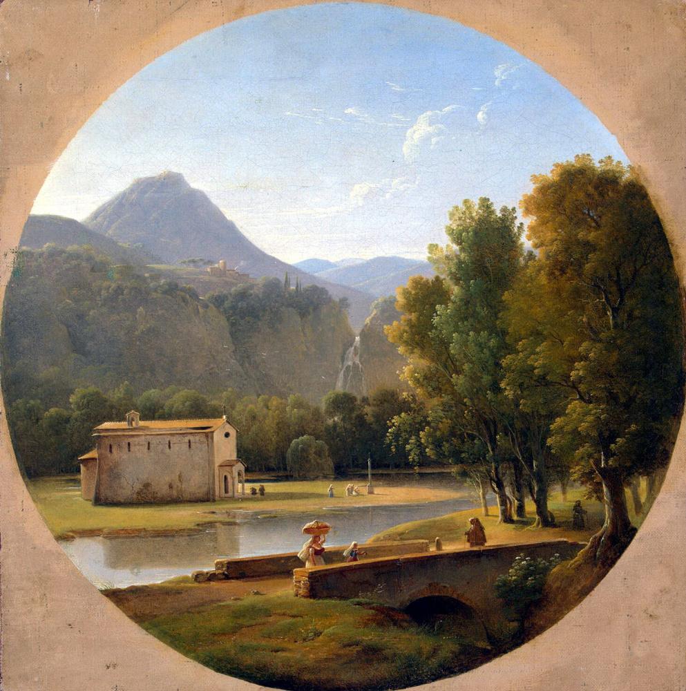 Пьер Атаназ Шовен. Итальянский пейзаж