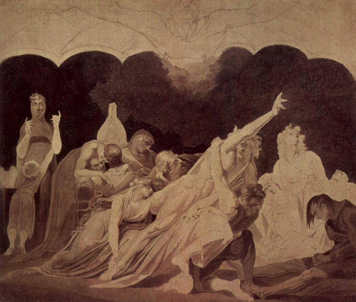 Иоганн Генрих Фюссли. Видение в изгнании