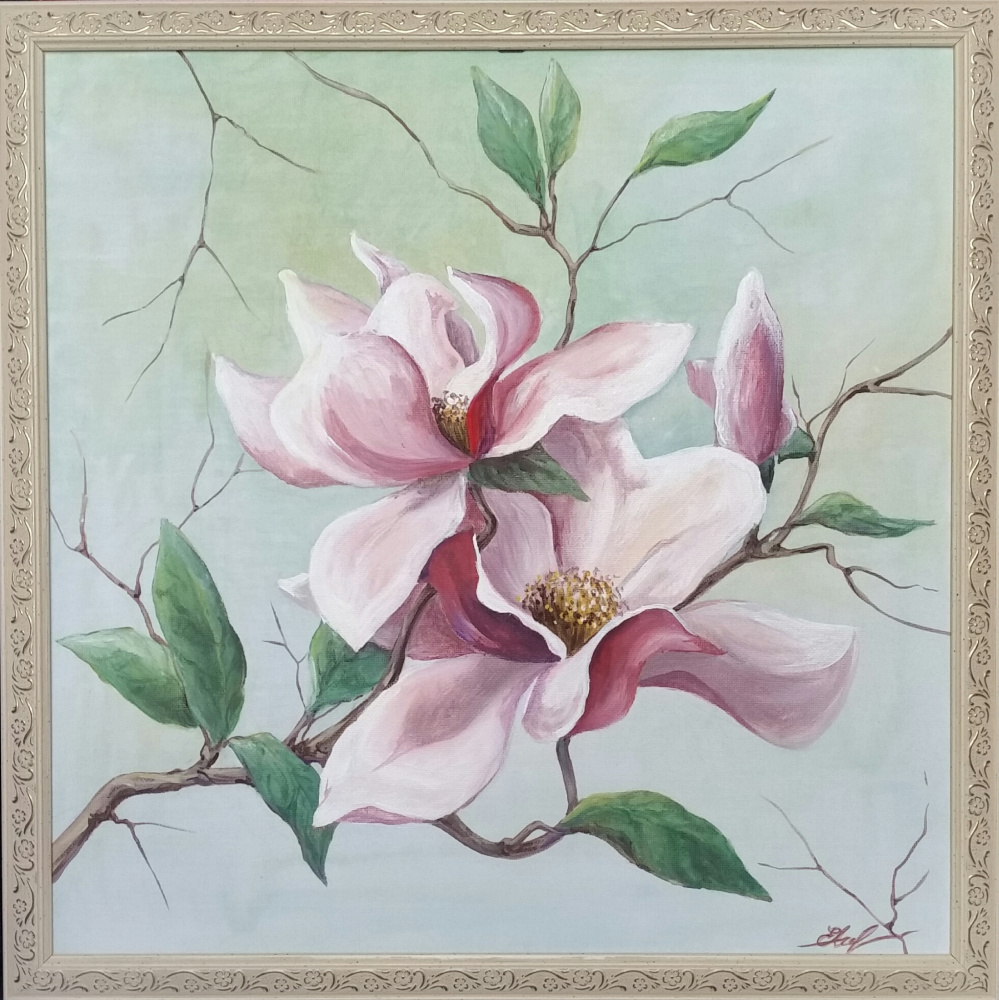 Elena Lobanova. Magnolia branch