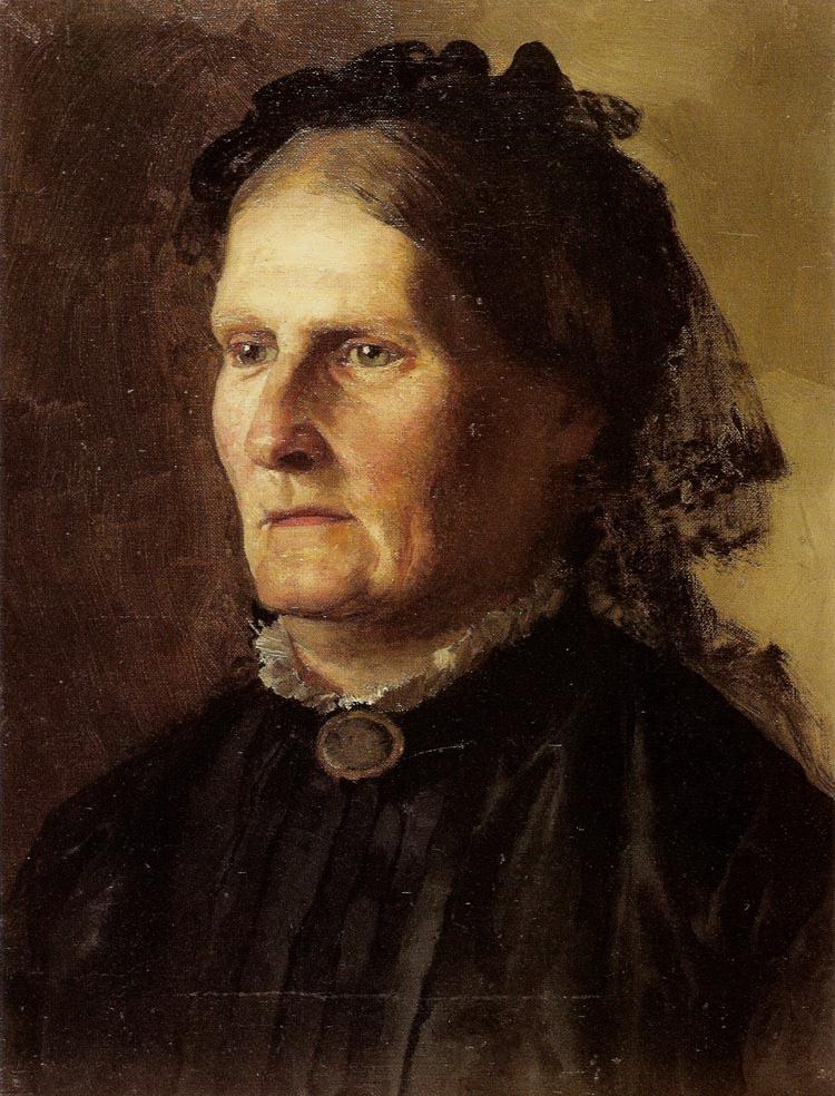 Генрих Ипполитович Семирадский. Portrait of the artist's mother