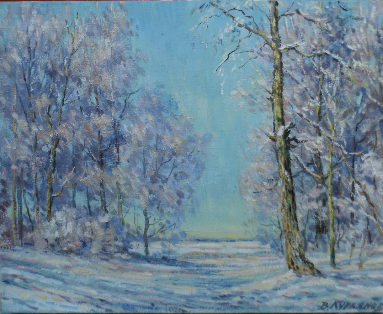 Victor Vladimirovich Kuryanov. The cold sun of winter