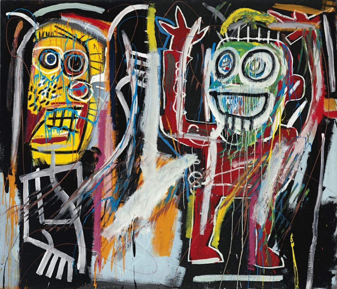 Jean-Michel Basquiat. Dustheads