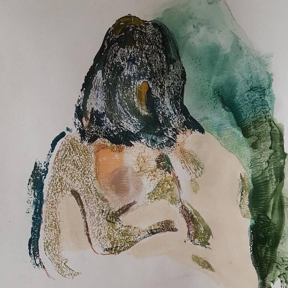 Alexandra Efimova. Body 1 series of graphic sheets