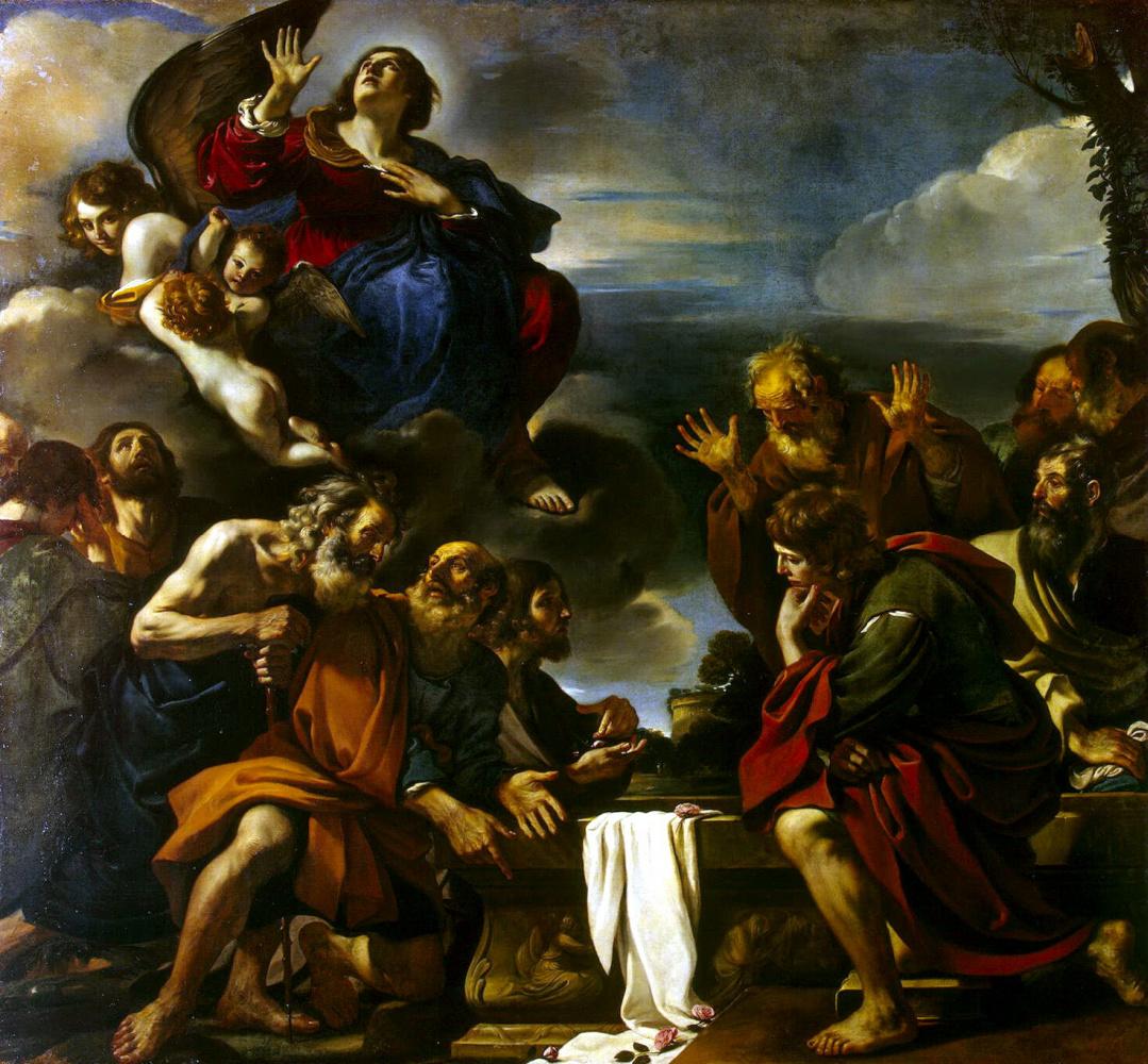 Джованни Франческо Гверчино. Вознесение Мадонны